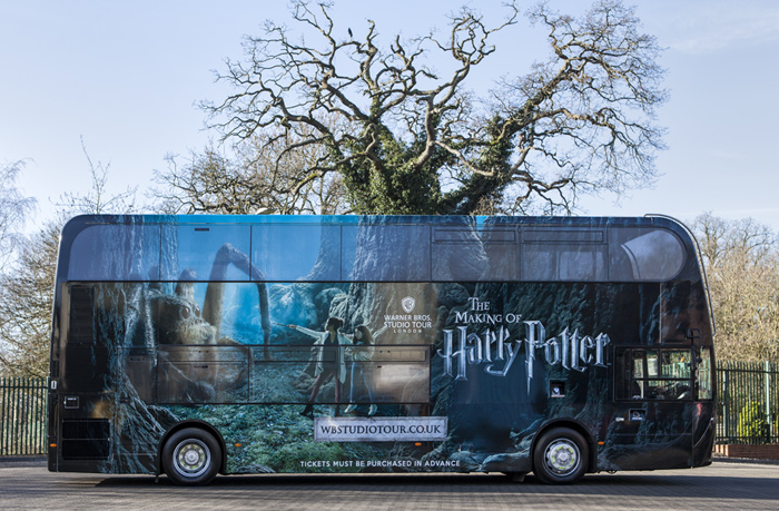 Warner Brothers Shuttle Bus
