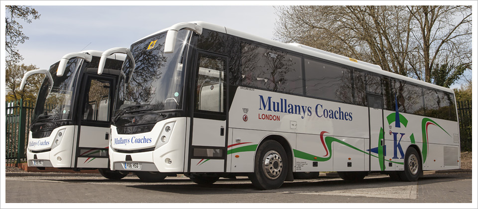 Mullanys Coaches 70 seat vehicles