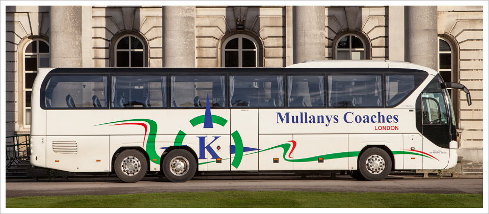 Mullanys Coaches triaxle