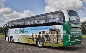49 seat in Colette livery